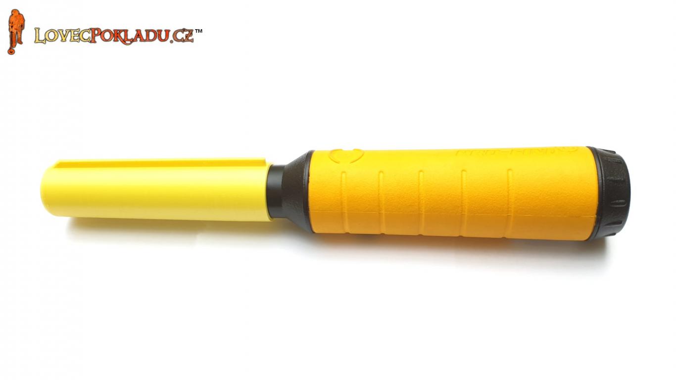 Ochranný nástavec s břitem pro Minelab PRO-FIND 35/20/15 - Žlutý