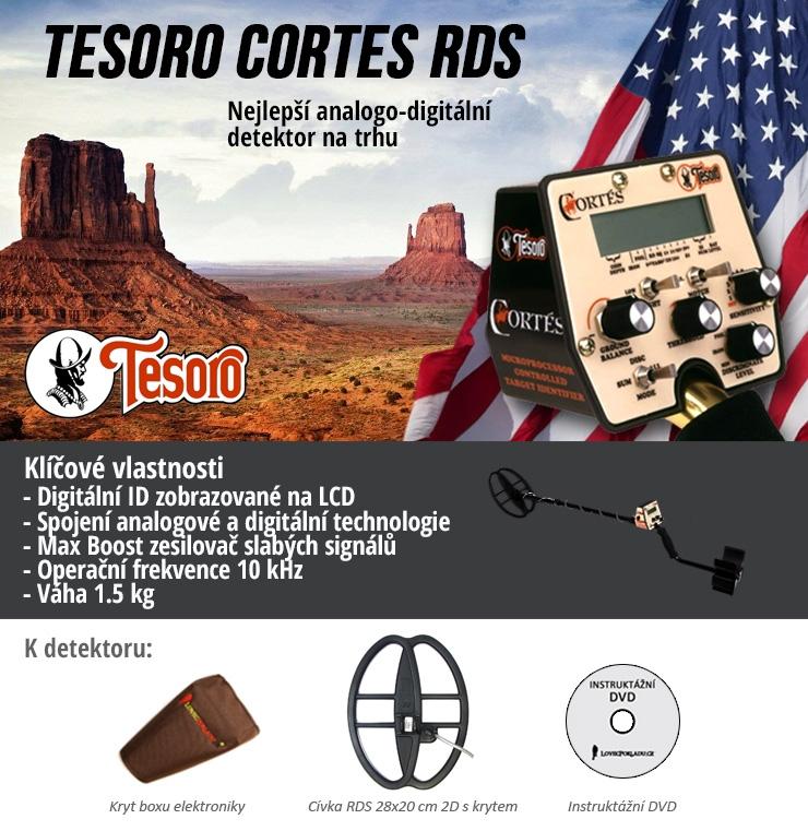 Detektor kovů Tesoro Cortes