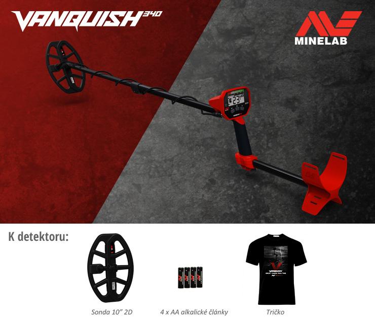 Detektory kovů Vanquish