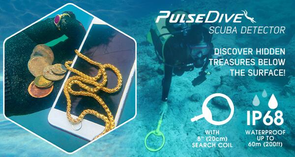 Nokta - Makro PulseDive Scuba detektor + sonda 20cm