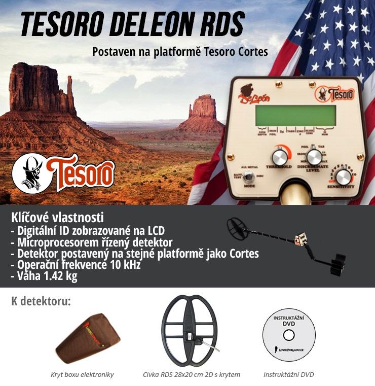 Detektor kovů Tesoro DeLeon