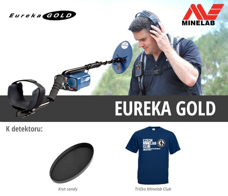 Detektor kovů Minelab Eurek Gold