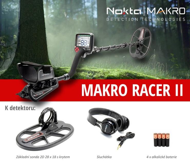 Zcela výjimečná prázdninová akce na detektory kovů Nokta-Makro Racer II. a Gold Racer