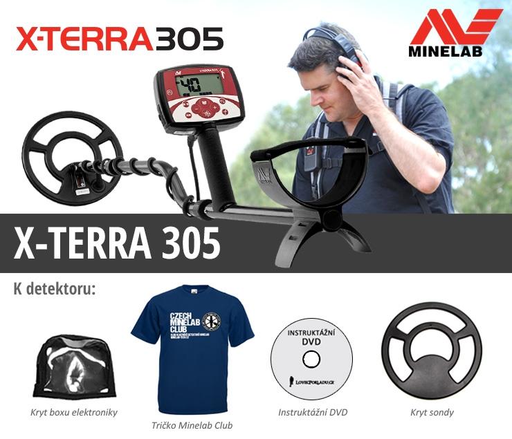Detektor kovů X-Terra 305