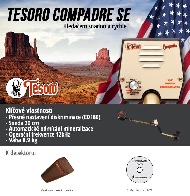 Detektor kovů Tesoro Compadre