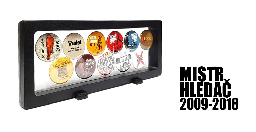 Odznaky Mistra Hledače - limitovaná edice LP