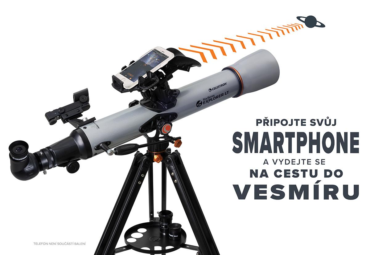 Nová řada teleskopu Celestron StarSense Explorer