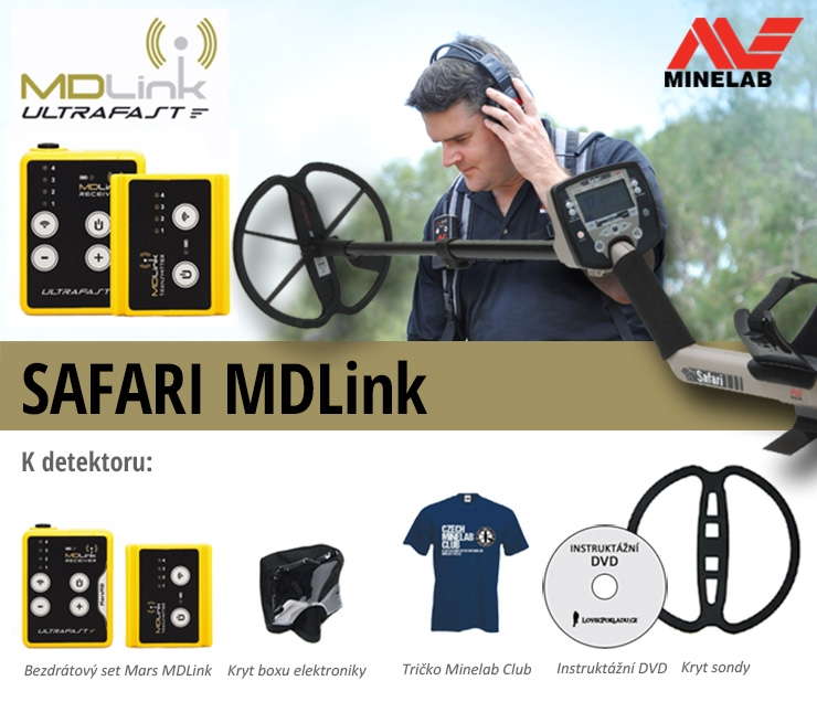 Minelab Safari a MD link