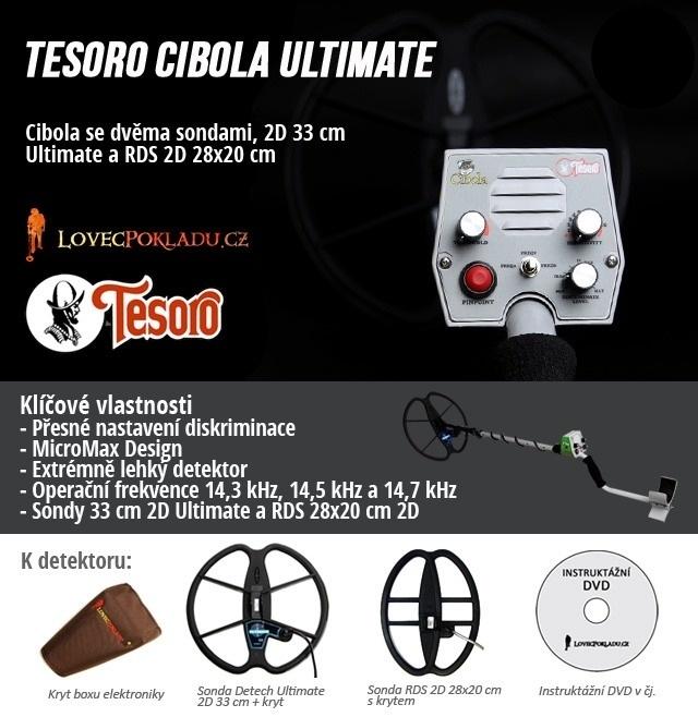 Detektory kovů Tesoro - Cibola