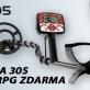 Detektor kovů Minelab X-TERRA 305