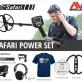 Detektor kovů Minelab Safari - Power set