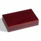 Kazeta na mince s mahagonovou texturou dřeva VOLTERRA pro 2 kapsle QUADRUM