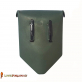 Replacement plastic sleeve for folding trowel - olive