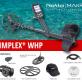 Detektor kovů Nokta – Makro Simplex+ WHP a bezdrátová sluchátka a separační cívka