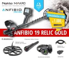 Detektor kovů Nokta Anfibio 19 Relic-Gold SET PP