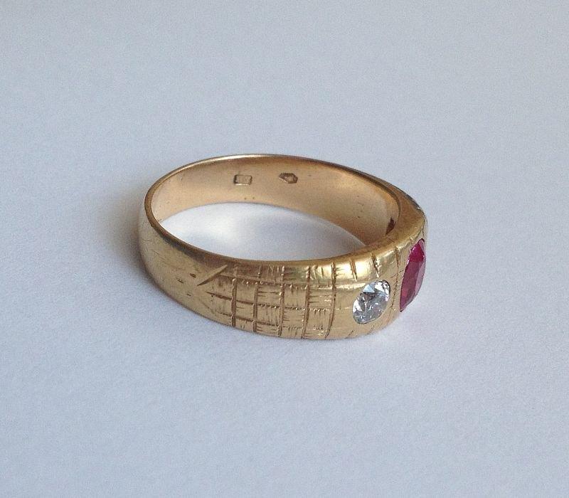 Datování zlaté prsteny