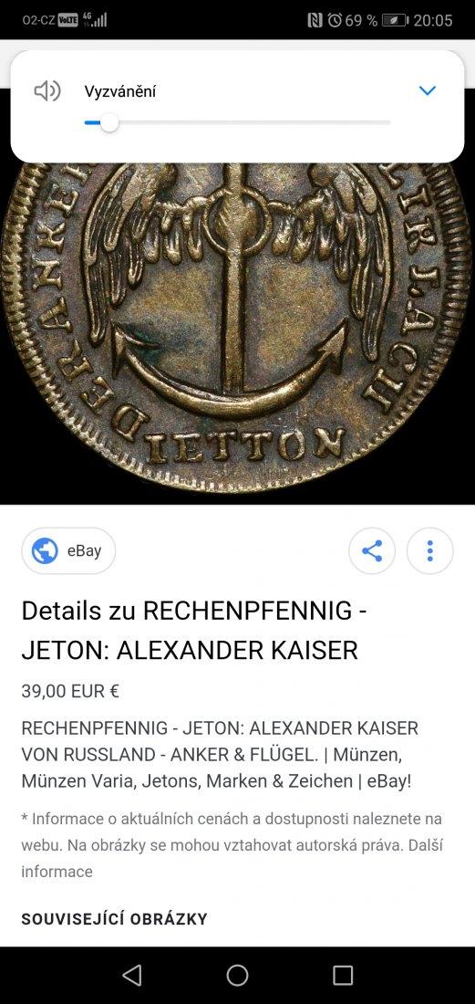 Alexander Kaiser Von Russland Lovecpokladucz