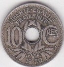10.Centimes 1920