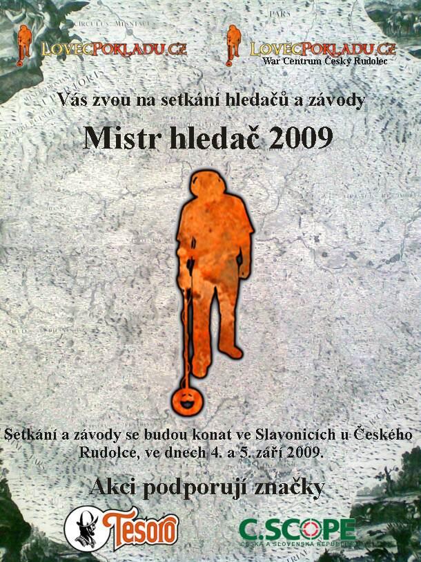 Mistr hledač 2009