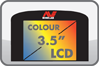 barevný LCD pro detektor kovů