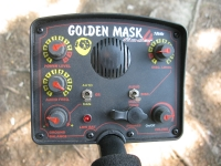 Test detektoru kovů Golden Mask GM4 se sondou 18 cm