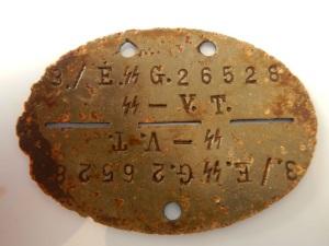 Známky nalezené detektorem kovů Tejon