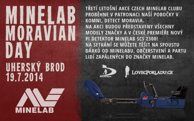 Den s detektory Minelab na Moravě