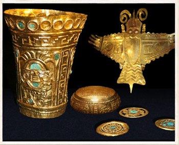 Datovania zlatých artefaktov