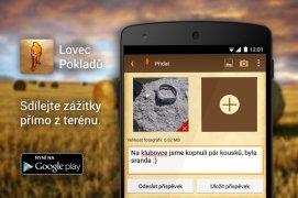 Aplikace Lovec Pokladů - opožděný vánoční dárek všem v klubu LP