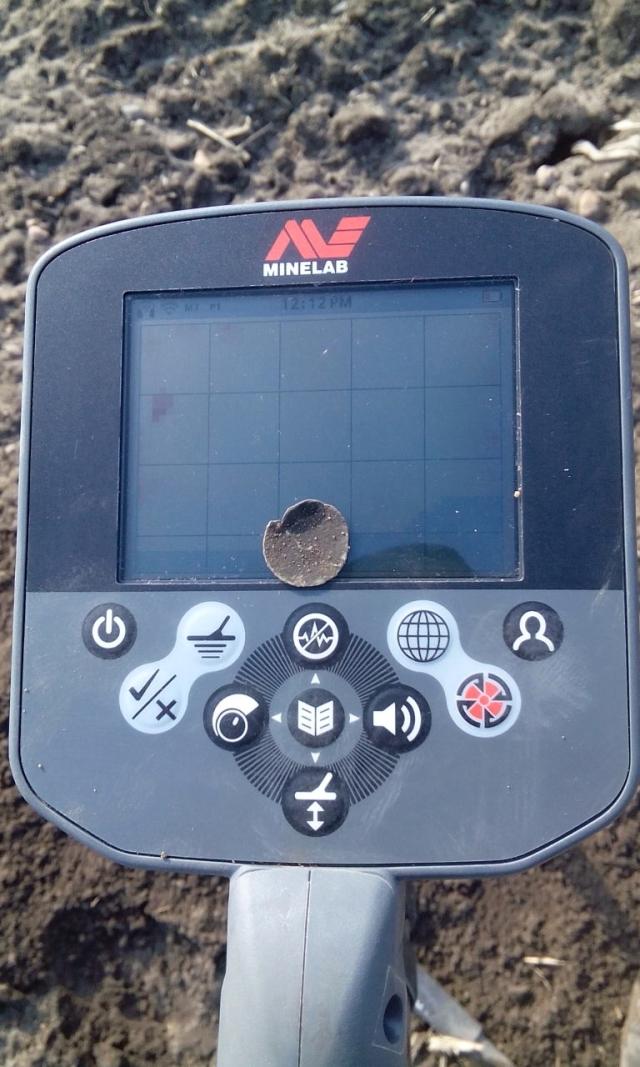 Nálezy detektorem kovů CTX 3030