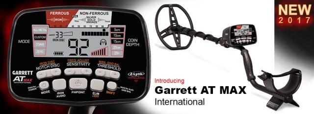 Detektor kovů Garrett At Max