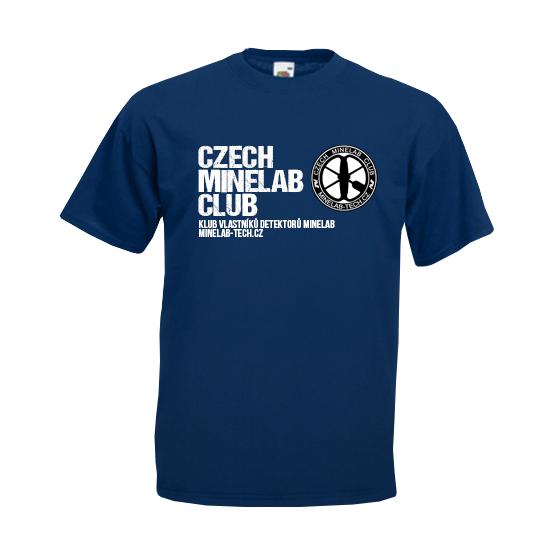 Tričko Czech Minelab Club
