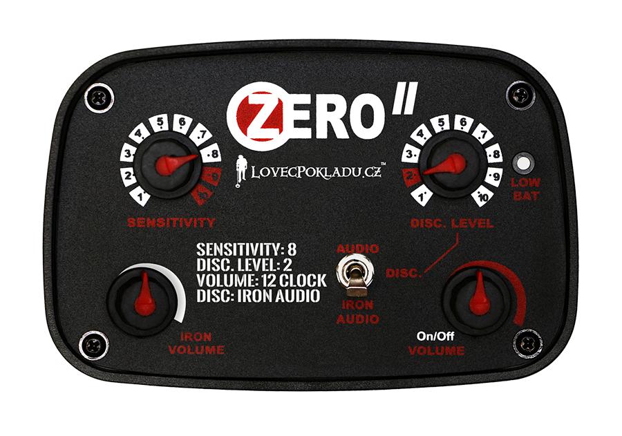 Detektor kovů LP Zero II - ovládací box