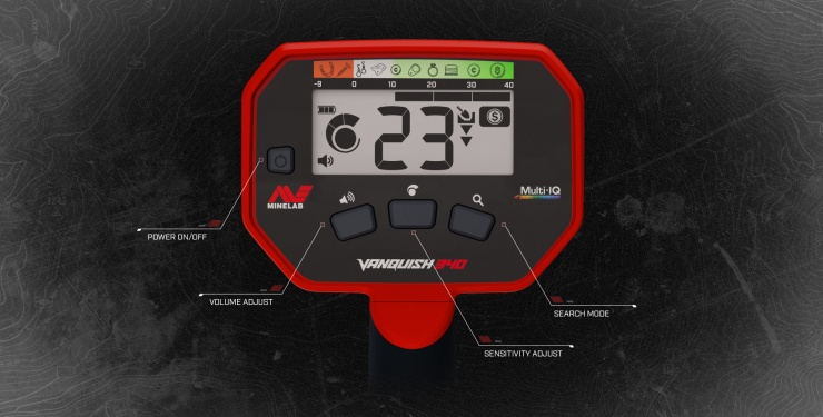 Detektor kovů Minelab Vanquish 340 - Box elektroniky