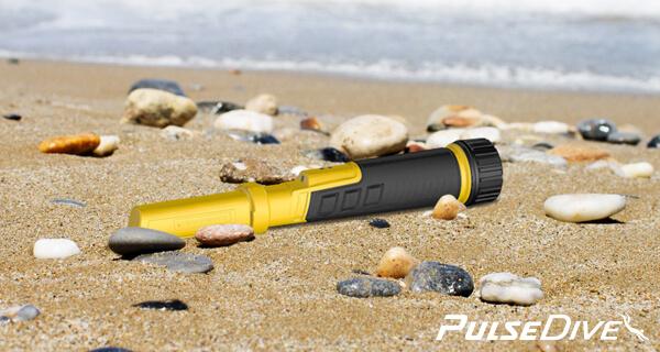 Dohledávací detektor nokta Pulsedive  scuba set