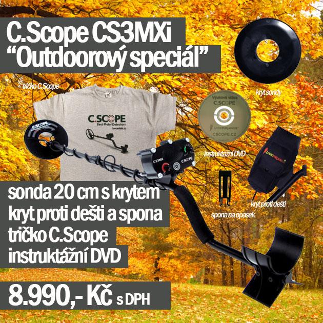 Detektor kovů C.Scope CS3MXi