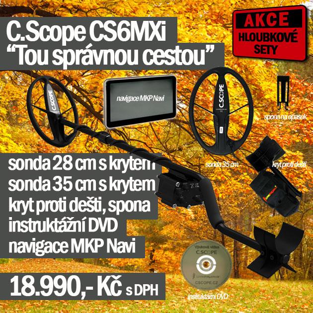 Detektor kovů C.Scope CS6MXi