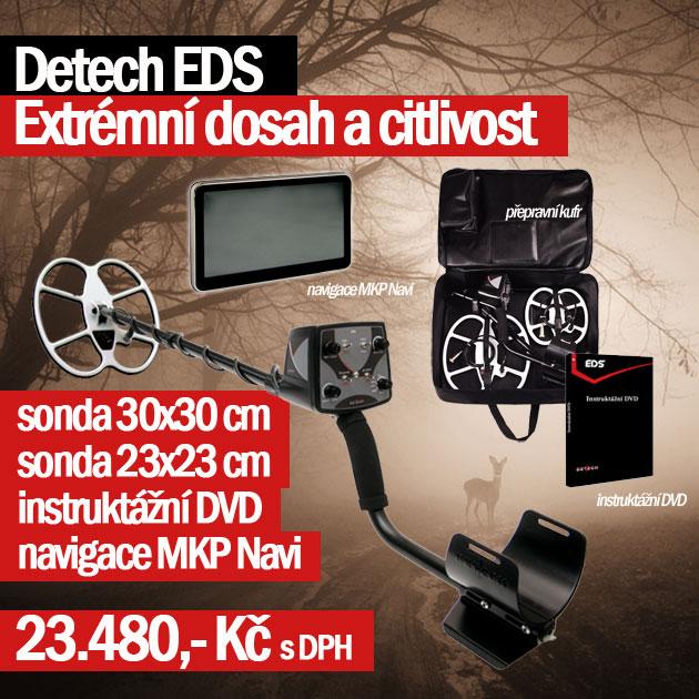 Detektor kovů EDS, jeden z nejhlubších přístrojů na trhu