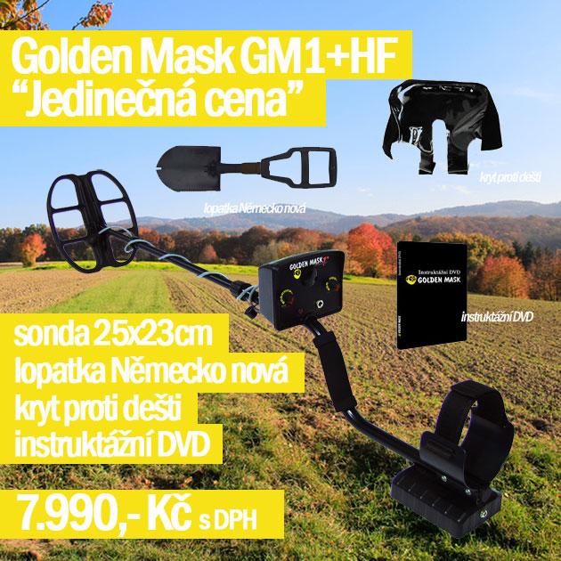 Detektory kovů Golden mask