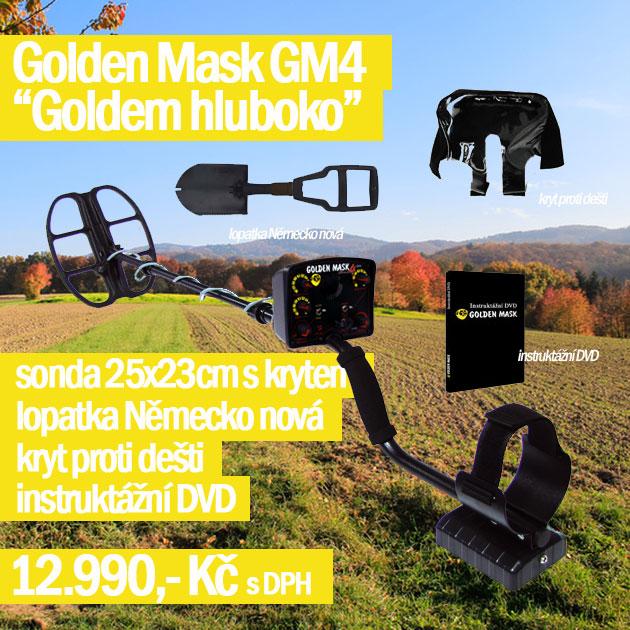Detektor kovů GM 4