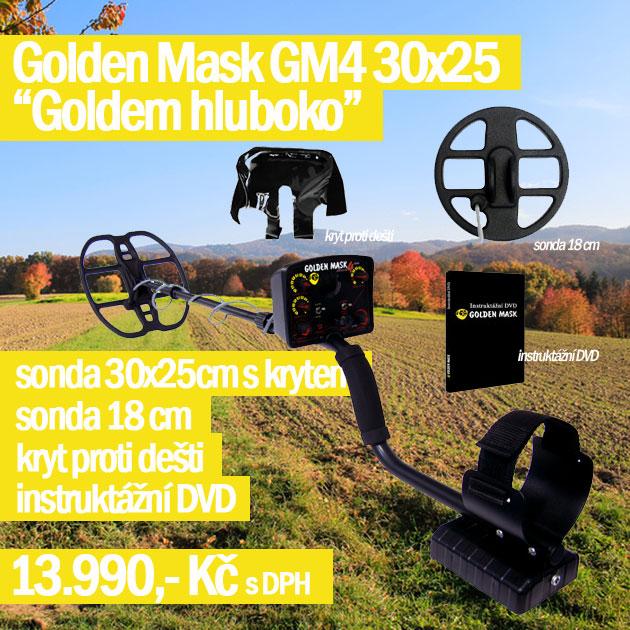 Detektor kovů Golden mask 4