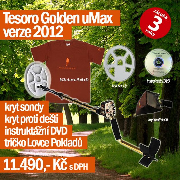 Detektor kovů Tesoro Golden uMAX