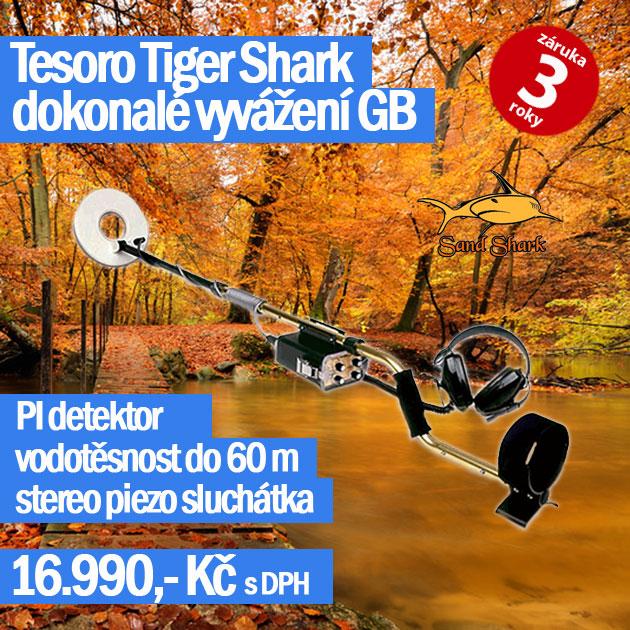 Detektor kovů Tesoro Sand Shark podzimní akce