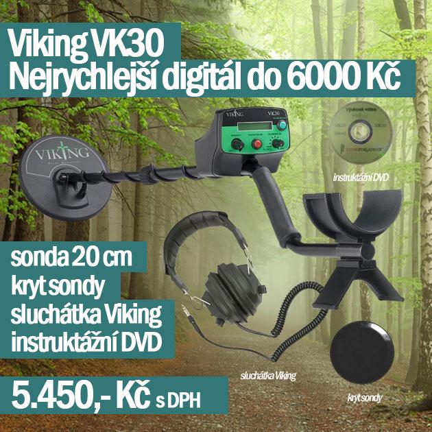 Viking detektory kovů