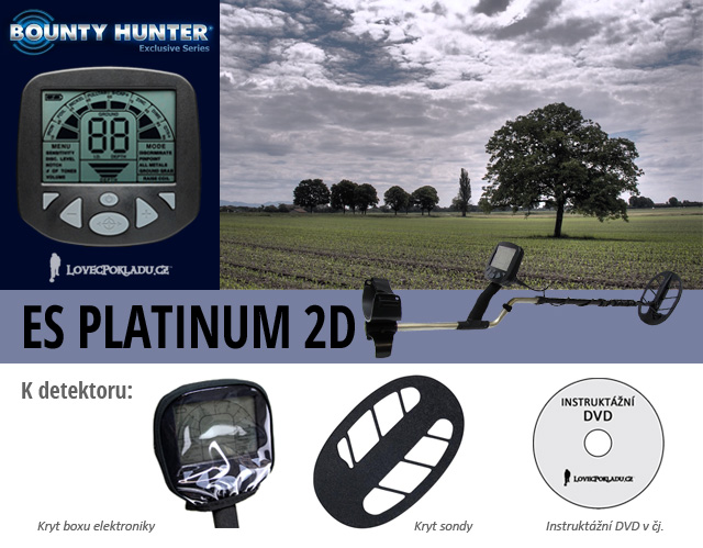 Detektro kovů Bounty Hunter Platinum