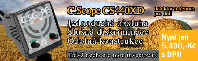 Detektor kovů C.Scope CS440XD