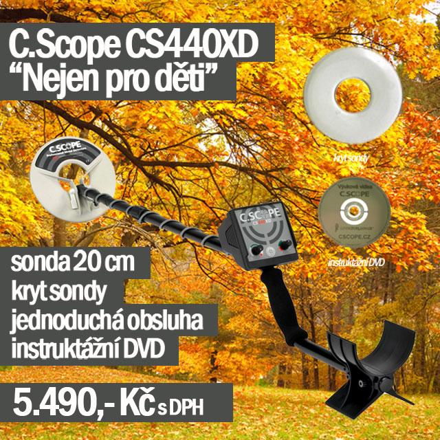 Detektor kovů CScope CS440XD