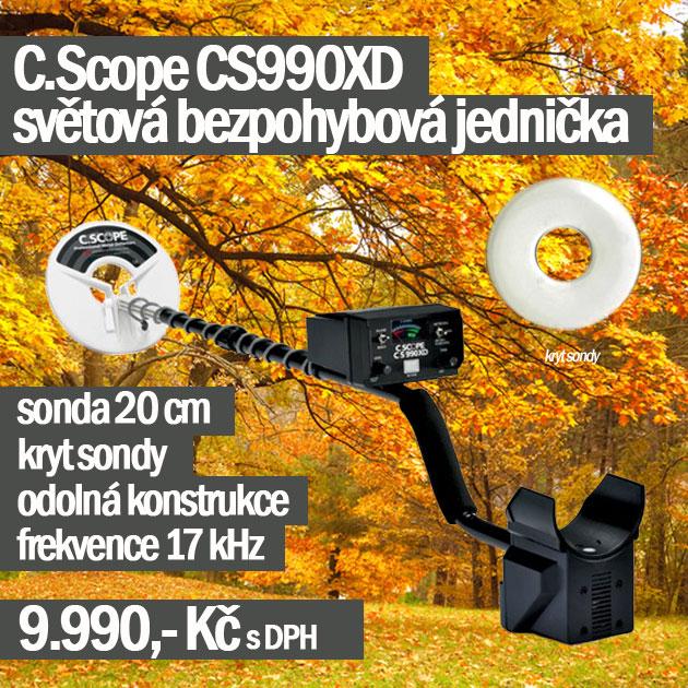 Detektor kovů CScope CS990XD