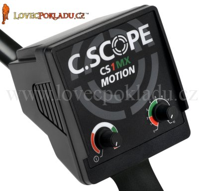 Detektor kovů C.Scope CS1MX kontrolní box elektroniky