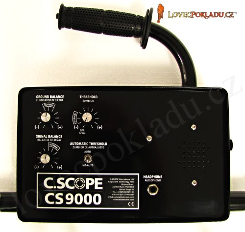 Detektor kovů C-Scope CS9000HPX
